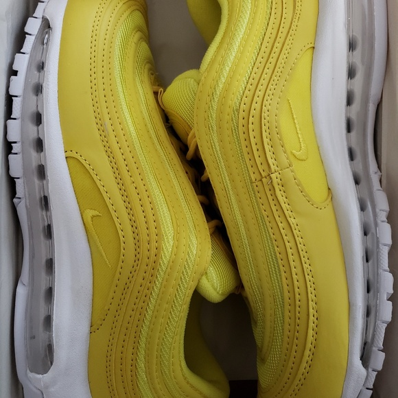00fd6e489f9 Authentic Nike Air Max 97 Florescent Yellow Custom NWT